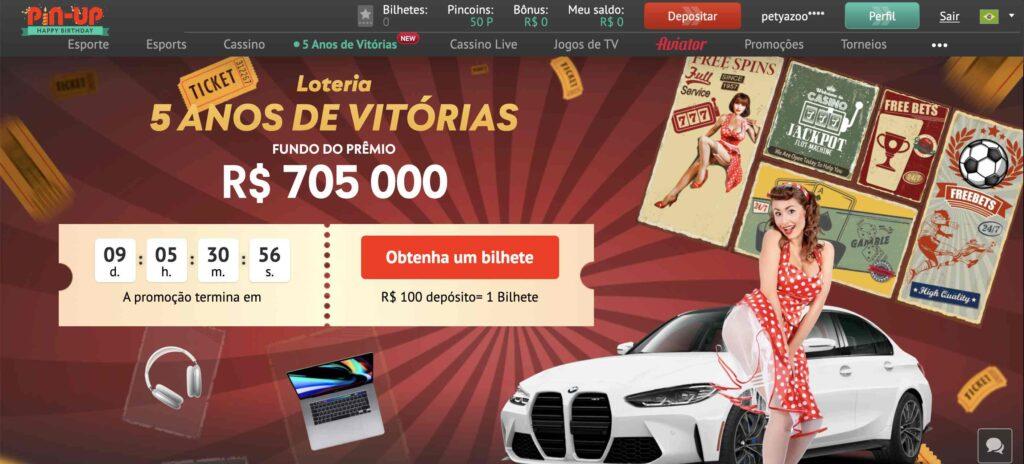Promoções de cassino online do Brasil